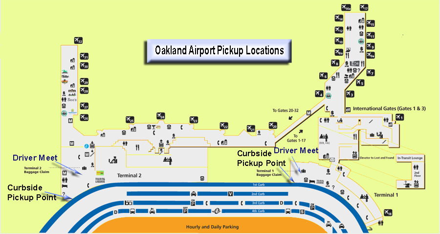 Oak Airport pickup